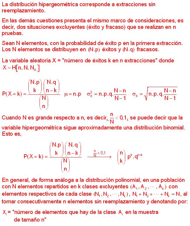 Muestreo y Control de Calidad, Estadística Teórica